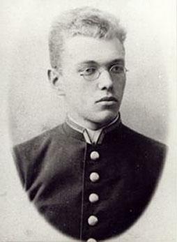 Valentin Woino-Jassenezky als Medizinstudent in Kiew.