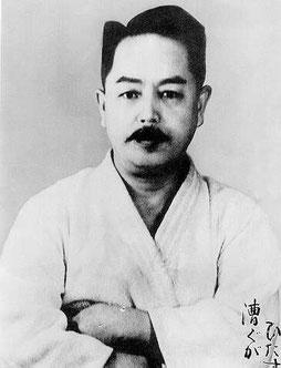 Mabuni Kenwa, Begründer des Shito Ryu Karate