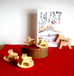 干支午 箸置きorパズル