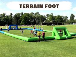 Location terrain de foot gonflable Annecy