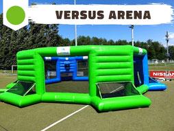 Location jeu gonflable arène sport élimination des adversaires, sport versus arena - Ludimouv