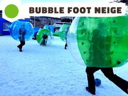 Location bubble foot Annecy, bubble foot neige à louer Haute-Savoie