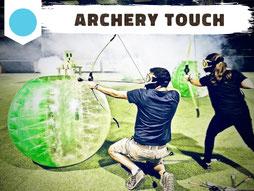 Archery Tag Annecy, location archery game, paintball à l'arc