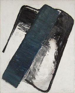 Alois Riedl  o.T.,  1986, Öl/Leinwand 80x120cm