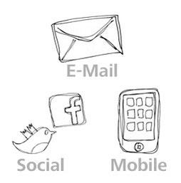 Auch andere Kommunikationskanäle nutzen