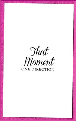 ONE DIRECTION : THAT MOMENT, CARTE AUSTRALIENNE