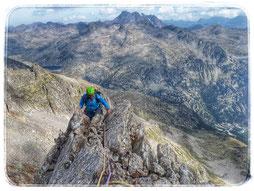 Guía de Montaña pico de los Infiernos