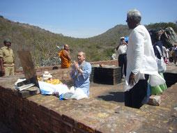 2010年、単身霊鷲山参拝