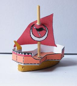 Lang- oder Segelschiff (Dau)