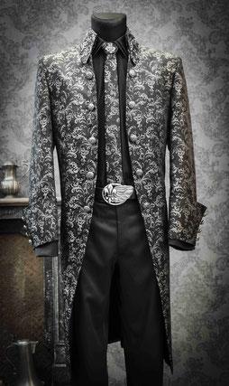 viktorianischen Gehrock, Vintage Anzug, Extravaganter Anzug, Hochzeitsanzug, außergewöhnlichen Anzug, Steampunk, Bräutigam, Bühnenoutfit, ausgefallener Anzug, einzigartig, besonders, außergewöhnlich Hochzeit, Gehrock