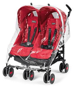 Regenschutz für Aria Shopper Twin Pliko Mini Twin