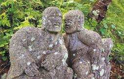 大法寺 羅漢石像
