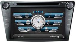 Navigationsgerät / Naviceiver AL-CAR EASINAV Drive für Fahrzeuge der Marke Hyundai