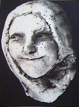 (16) Маска-портрет Е.М. Варбанец (Сочи, 1929г.)