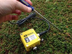 sonde de température des sols - capteurs agralis, aquitaine