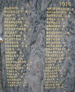 Roche-la-Molière - Monument aux morts