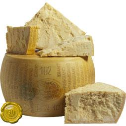 Parmigiano Reggiano 24 meses del Consorzio del Parmigiano Reggiano (39,50€/kg)