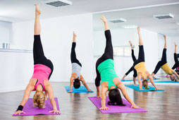 Yoga-Gruppenkurs in Hamburg
