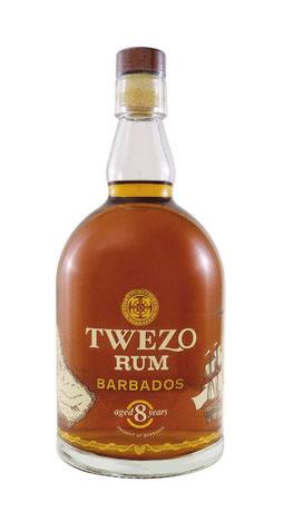Twezo Rum Barbados 8 Years