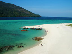 Beach on Ko Lipe