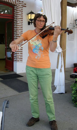 Gabriela Aurora Ryter: Herzensklänge an einer Geburtstagsfeier