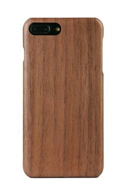 AIR iPhone 7 Plus Holzhülle Nussholz front