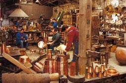 la cité du cuivre, Villedieu-les-Poêles