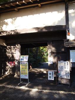 ●カフェの向かいには、「おたかの道湧水園・武蔵国分寺跡資料館」があります