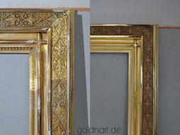 Bilderrahmen vergolden bzw. restaurieren lassen, Wiesbaden, Königstein, Frankfurt, Hessen, Mainz