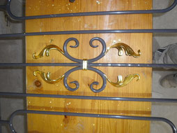 Möbel, Inventar, Geländer vergolden lassen, Blattgold, Blattvergolden, Blattgold vergoldung