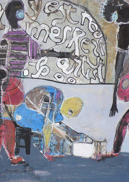 JOEL MPAH DOOH EN COLLECTION CHEZ MAXANART - GALERIE D'ART VALBONNE