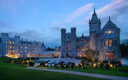 Luftbild von Adare Manor