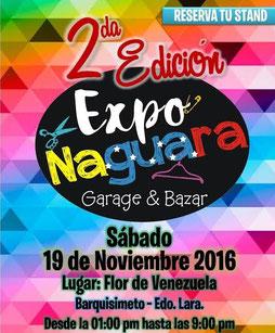 Exponaguara Garage & Bazar - Segunda Edición