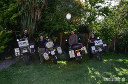 Neuseeland - Motorrad - Weltreise - Christchurch - Traveller Meeting - Timetoride mit 2Livethedream