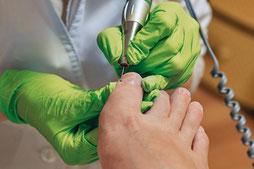 Medizinische Fußpflege in Hennef, Podologin Cornelia Becker