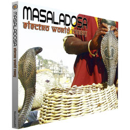 "CD DIGIPACK MASALADOSA ""Electro World Curry"""