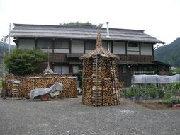 スローライフ田舎暮らしは薪作り