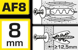 hier kann man Kragendübel AF8 kaufen