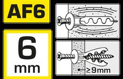 hier kann man Kragendübel AF6 kaufen