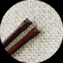 ふくろうの形の箸