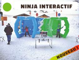 Qui sera le plus rapide à toucher toutes ses cibles et sera élu véritable Ninja ? Une animation ludique de jour comme de nuit !