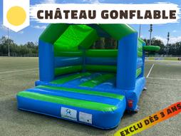 Un château gonflable spécialement conçu pour les tout petit ! Dès 3 ans, les enfants pourront s'amuser dans ce château rempli d'activités à l'intérieur