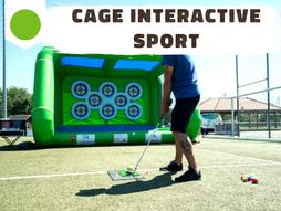 Animation avec cibles interactives compatibles football, handball, tennis, tir à l'arc, ... Pour un challenge en duel ou en équipes, avec score en direct sur tableau digital !
