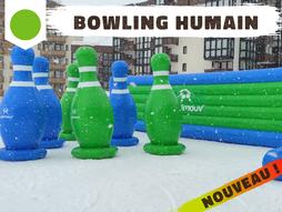 bowling humain, sensations fortes, adrénaline