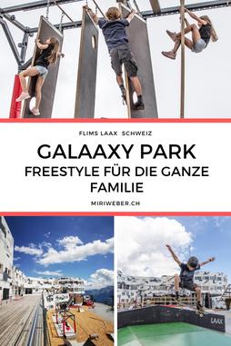 Galaaxy, Freestylepark, Skateboard Park, Ninja Parcours, Slackline, Laax, Flims, Graubünden, Ferien in der Schweiz, Crap Sogn Gion, Skatepark, Familien Ferien, Ferien mit Kinder in der Schweiz, Travel Blog Schweiz, Schweizer Familienblog