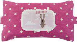 Feuchttücherhülle in Pink