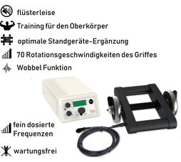 Galileo Vibrationshantel Mano 30, Preis, Vertrieb, Test, Meinungen: www.kaiserpower.com