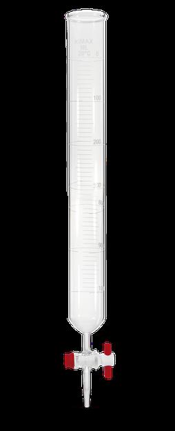 Buretas macro dispensadoras con llave de PTFE 1780F