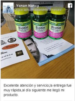 biotina de 10,000 spring valley opiniones comprar en mexico