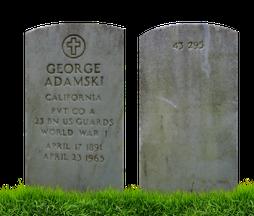 George Adamsky Settore 43 n. 295